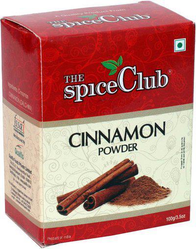 The Spice Club Cinnamon Powder | Surul Pattai Thool 100g Box - 100% Pure(100 g)