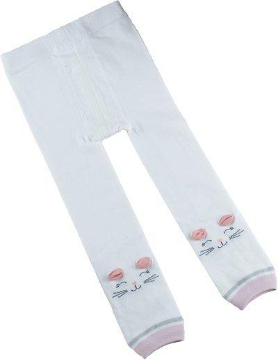 Kidofash Indi Legging For Baby Girls(White Pack of 1)