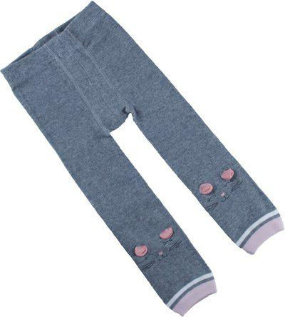 Kidofash Indi Legging For Baby Girls(Grey Pack of 1)