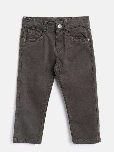 Losan Regular Fit Boys Grey Trousers