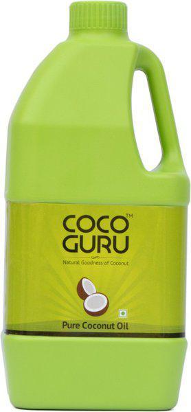 Cocoguru Coconut Oil - Jerry Can 1 Litre Coconut Oil Can(1 L)