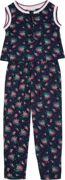 Cherokee Printed Baby Girl's Jumpsuit
