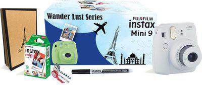 Fujifilm Instax Mini9 Wander Lust Series Instant Camera(White)