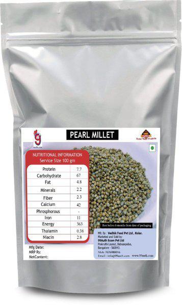 99Auth Genuine Original Natural Pure Pearl Millet(500 g)