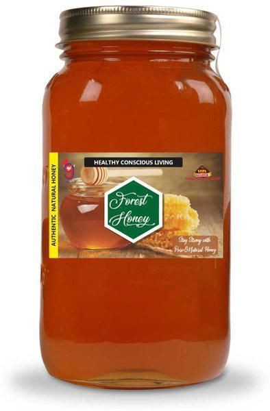 99Auth Pure Natural Honey Genuine Original Forest Raw Honey 200 gr(200 g)