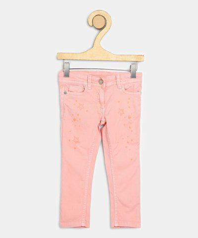 US Polo Kids Slim Girls Pink Jeans