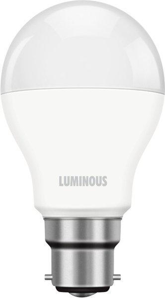 Luminous 7 W Round B22 D LED Bulb(White)