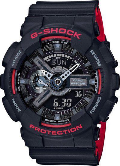CASIO G700 G-Shock ( GA-110HR-1ADR ) Analog-Digital Watch - For Men