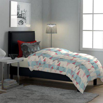 Classic Polycotton Single Bedsheet in Blue Colour Dreamline