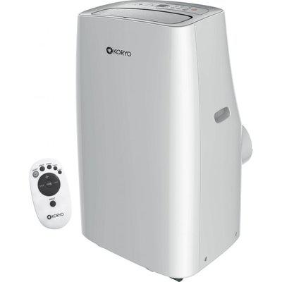 1.2 Ton Portable AC - (KPA15FG, Copper Condenser) in White Colour by Koryo from Koryo