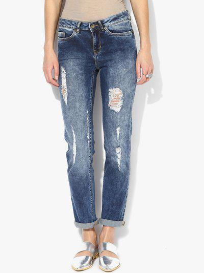 74ef472907b Buy Vero Moda Distressed Jeans in Jeans - Upto 65% Off