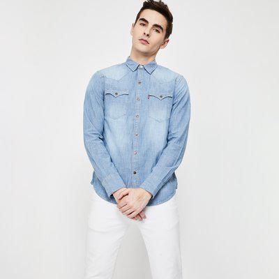 LEVI'S Washed Denim Shirt