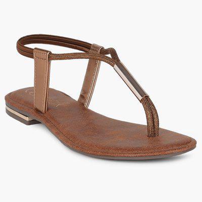 CATWALK Elasticated Ankle Strap Sandals