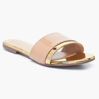 CATWALK Colourblock Slip-On Sandals