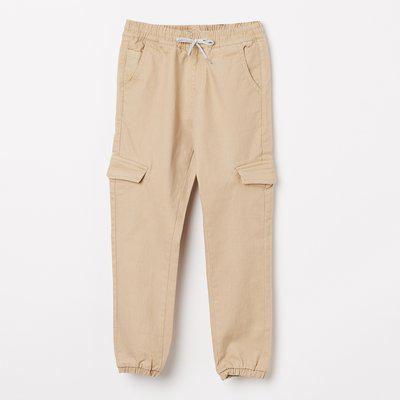 BOSSINI Regular Fit Boys Beige Trousers