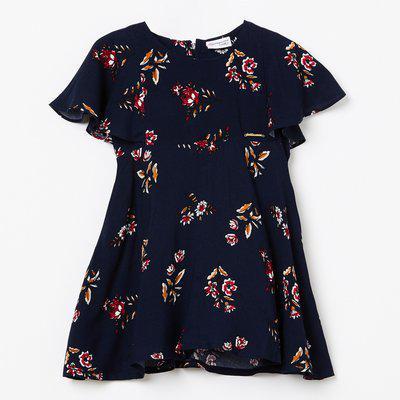 PEPPERMINT Floral Print A-line Dress