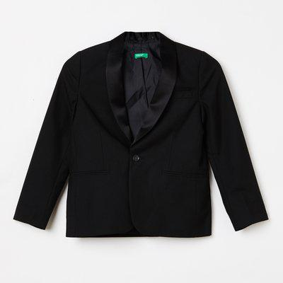UNITED COLORS OF BENETTON Solid Shawl Collar Blazer