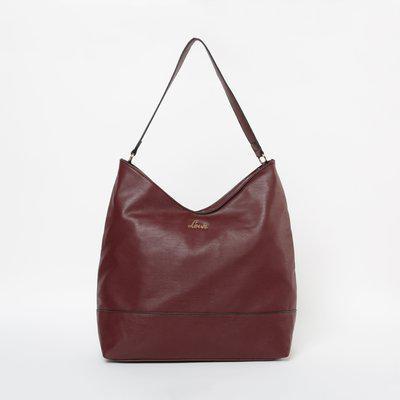 LAVIE Solid Hobo Bag