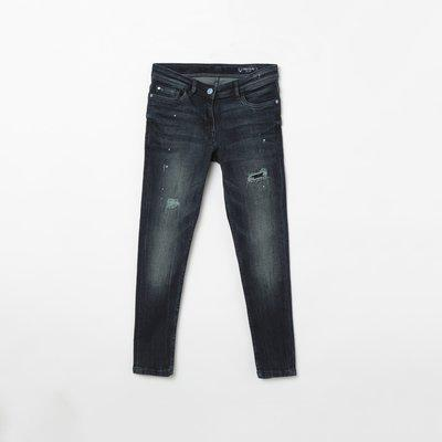 ALLEN SOLLY Stonewashed Skinny Fit Jeans