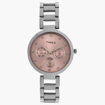 TIMEX Multifunction Round Dial Watch TW000X212