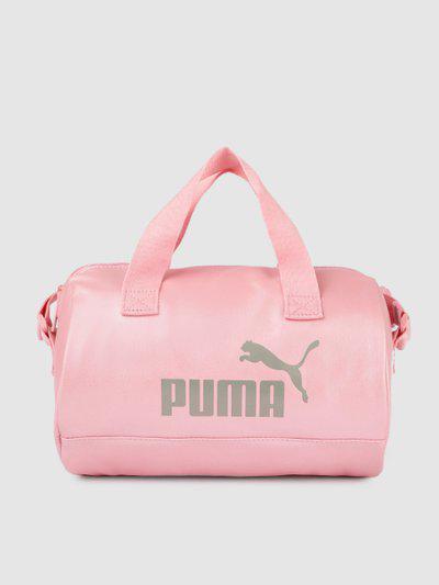 Puma Pink Printed Core Up Handheld Bag