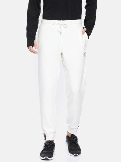 ADIDAS Originals Men White Solid Straight Fit R.Y.V SWEATP Joggers