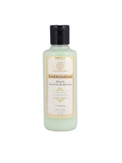 Khadi Natural Ayurvedic Green Tea & Aloevera Herbal Hair Conditioner 210 ml