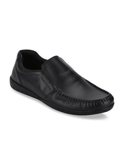Red Tape Leather Formal Corporate Casuals For Men(Black)