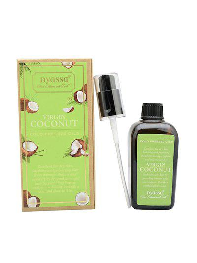 Nyassa Unisex Virgin Cold Pressed Coconut Oil 100ml