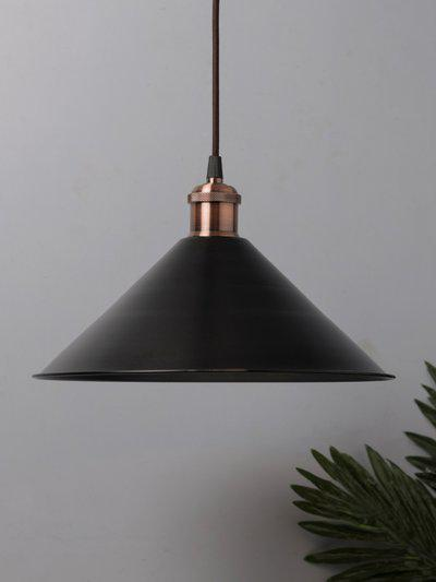 Homesake Black Solid Handcrafted Ceiling Lamp