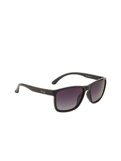 Ted Smith Unisex Purple Wayfarer Polarised Lens Sunglasses TS-5001S
