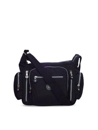 BAHAMA Unisex Black Solid Messenger Bag