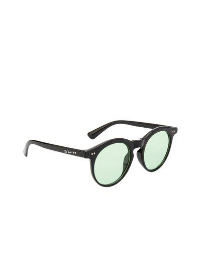 Ted Smith Unisex Round Sunglasses TS-Z3229_GRN
