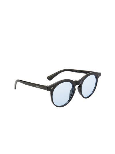 Ted Smith Unisex Round Sunglasses TS-Z3229_BLU