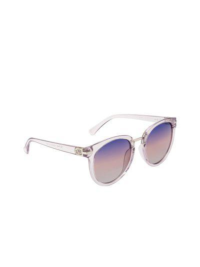 Ted Smith Women Purple Cateye Sunglasses TS-P201971_C59