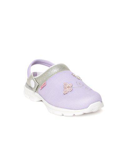 KazarMax Kids Lavender Clogs