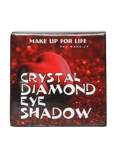 MAKE UP FOR LIFE Professional Glitter Shimmer Heart Shaped Crystal Diamond Eyeshadow Makeup Cream