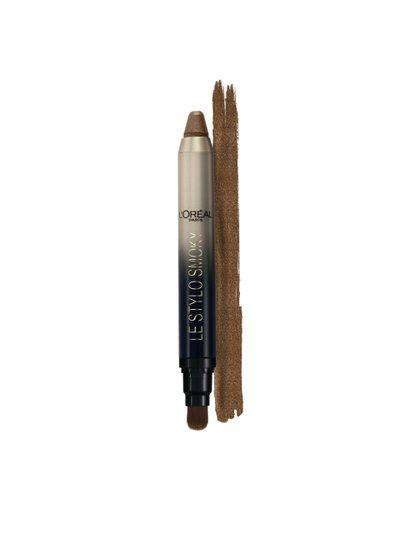 LOreal 102 Delicate Wood Color Riche Le Stylo Smoky MetallicEye Shadow 1.5 g