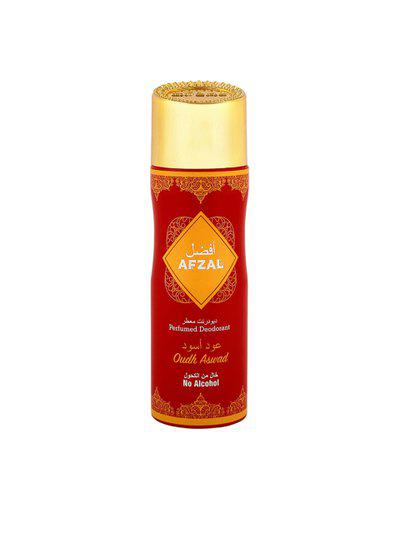 AFZAL Unisex Non Alcoholic Oudh Al Aswad Deodorant 200ml