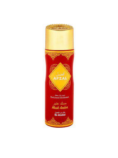 AFZAL Unisex Non Alcoholic Musk Amber Deodorant 200ml