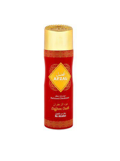 AFZAL Unisex Non Alcoholic Saffron Oudh Deodorant 200ml