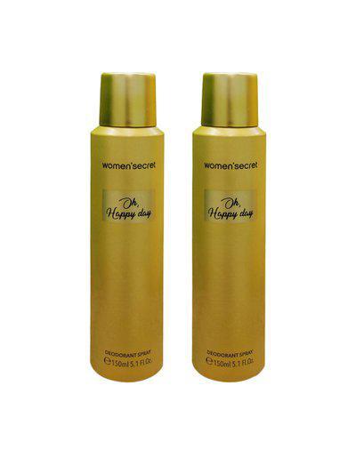 WOMEN SECRET Women Set of 2 Oh Happy Day Deodorant 150ml each