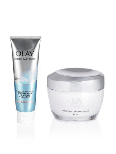 Olay Set of Face Moisturiser & Cleanser