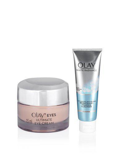 Olay Set of Eye Cream & Face Cleanser