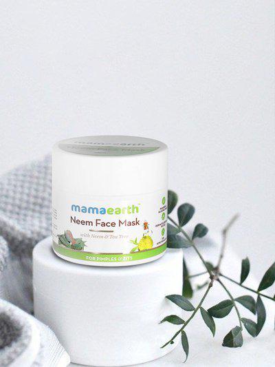 Mamaearth Unisex Neem Face Mask 100 ml