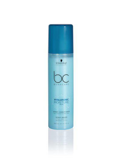Schwarzkopf PROFESSIONAL Unisex Bonacure Hyaluronic Moisture Kick Spray Conditioner 200 ml