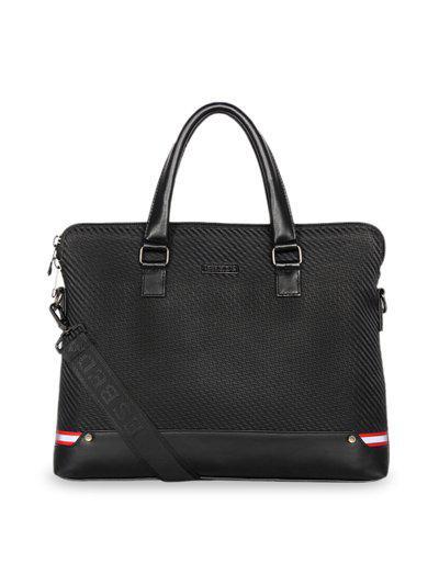 ESBEDA Unisex Black Textured Laptop Bag