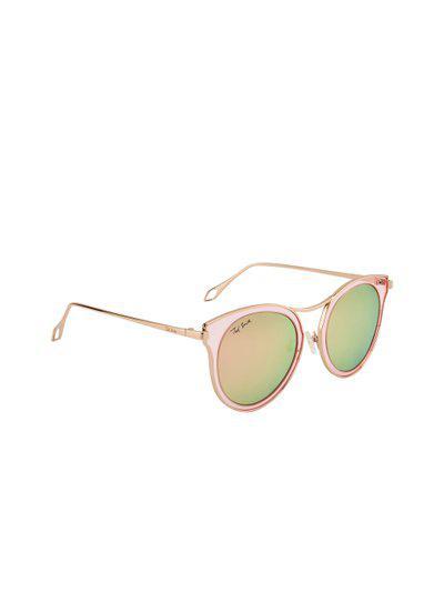 Ted Smith Women Polarised Lens Round Sunglasses TS-1306S_C1