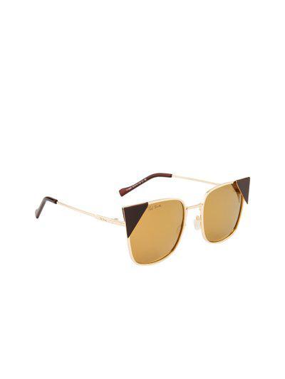 Ted Smith Women Polarised Lens Square Sunglasses TS-1313S_C2