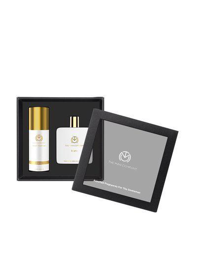 The MAN COMPANY BLANC Men Classic Daily Body Perfume & EDT Kit